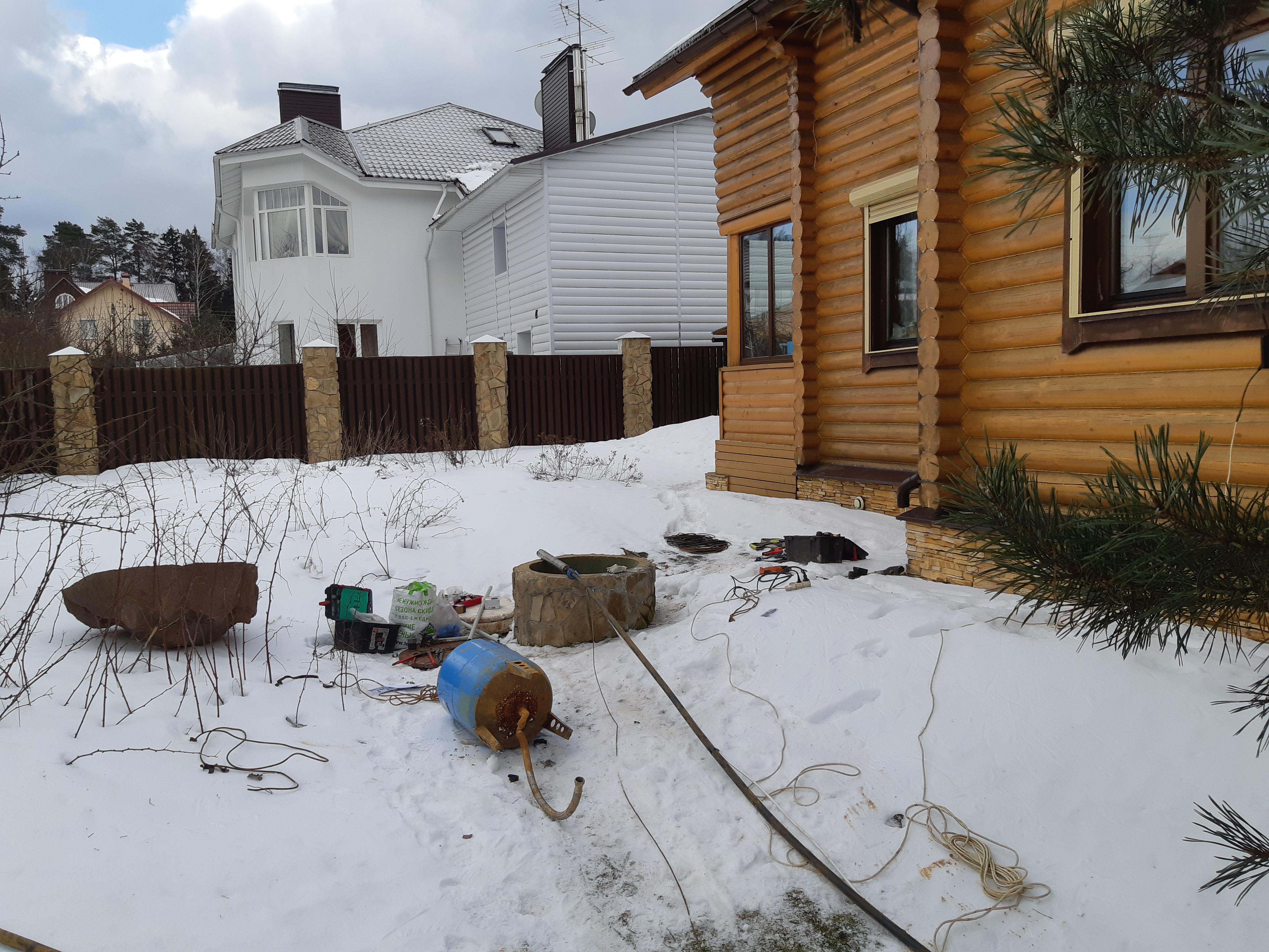 Ремонт скважин в Московской области