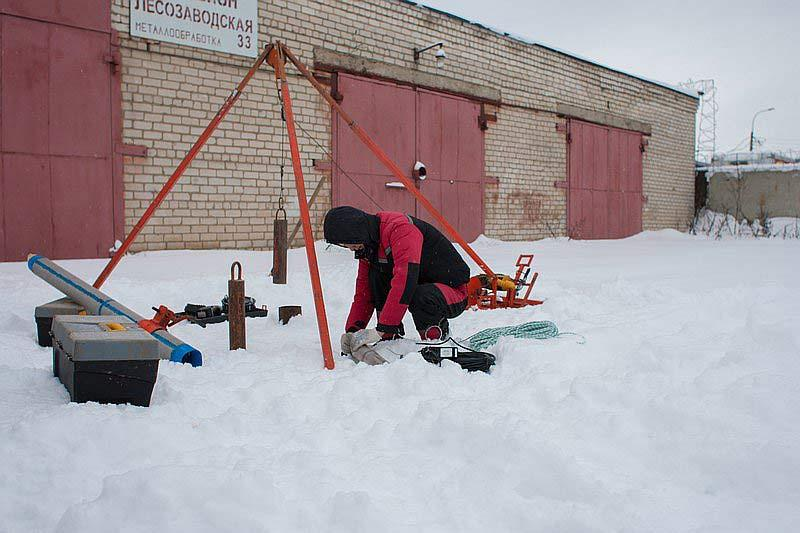 Ремонт и чистка скважин на воду в Пушкинском районе